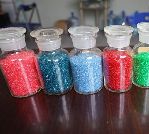 塑料染色造粒